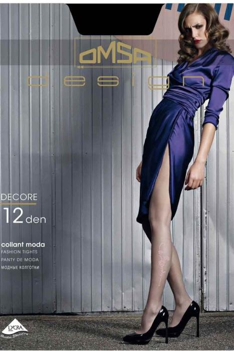 Mode Figural Collants 12 den Omsa 3310