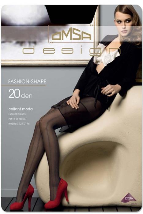 Mode Figural Collants 20 den Omsa 3336