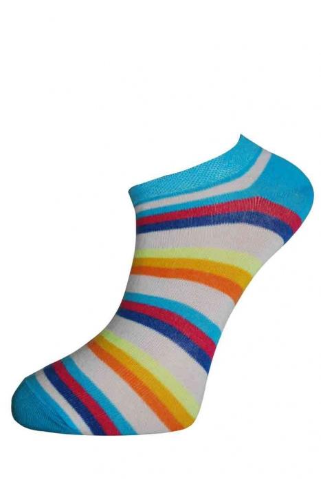 Faible bande chaussettes de coton pour femmes