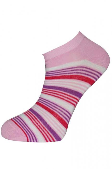 Faible bande chaussettes en bambou de la femme