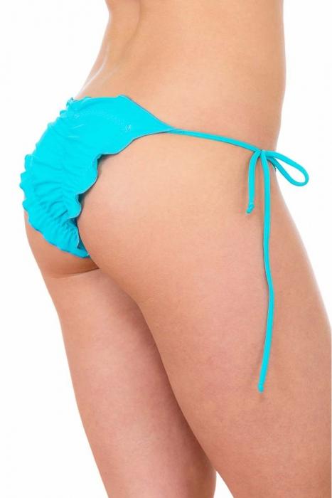Bas de bikini sexy boucles de style tanga brésilienne 117