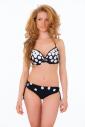 Ensemble de bikini avec manche moulée dure style bref 1192