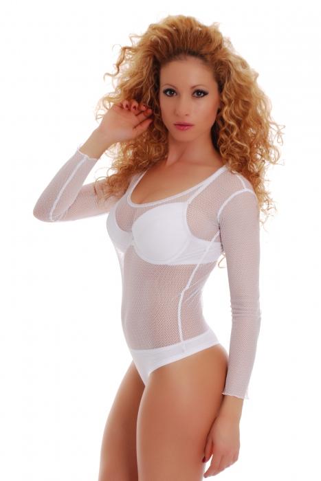 Bodysuit des femmes sur SALE 370 blanc
