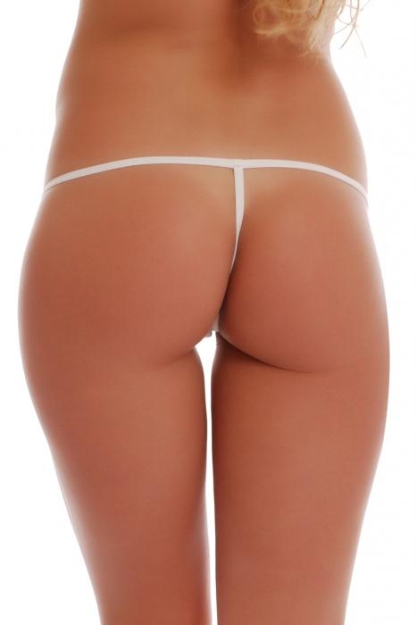 Cotton Panties G-string style avec Srip Retour 1016