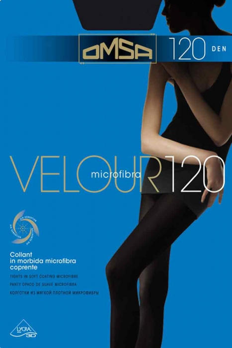 Collants Matt Velur 120 Den Omsa 198