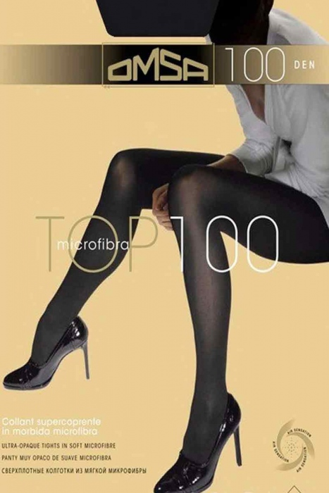 Collants en microfibre Omsa 100 Den 321