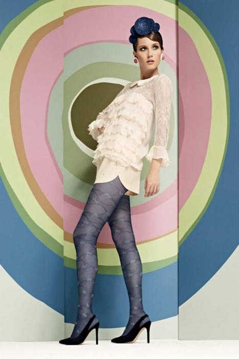 Mode Figural Collants 15 den Omsa 3359