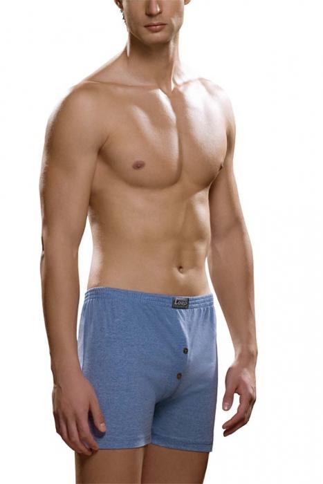 Short boxer pour homme 100% coton Lord 160