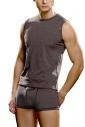 T-shirt pour hommes Sans manches en coton Lycra Lord 280