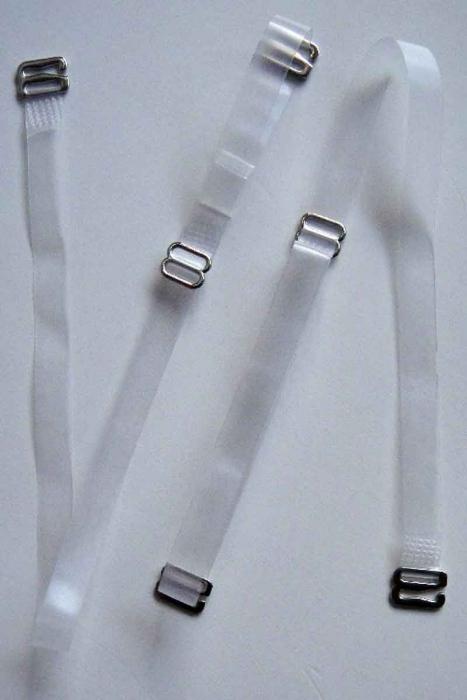 Braches en silicone avec pointe en métal pour soutiens-gorge