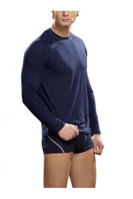 T-shirt homme manches longues en coton lycra Seigneur 286