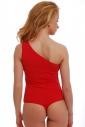 Combinaison extravagante pour femmes en coton une épaule 1442