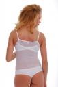 Bodysuit pour femme Bracelet mince See Through Vest 325