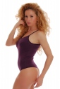 Coton Femmes Body Thin Strap Vest Thong Style 1350