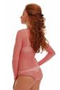 Maillot de dentelle en dentelle à manches longues manches longues style bikini 909
