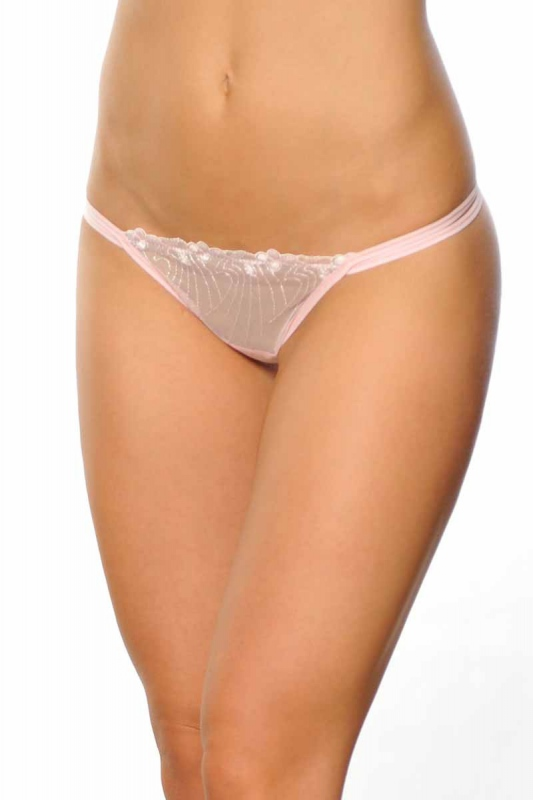 Chaussures en dentelle Classic G-string style 724