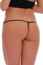 Culotte style coton G-string avec Srip Retour 1105